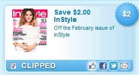 Off The February Issue Of Instyle Coupon