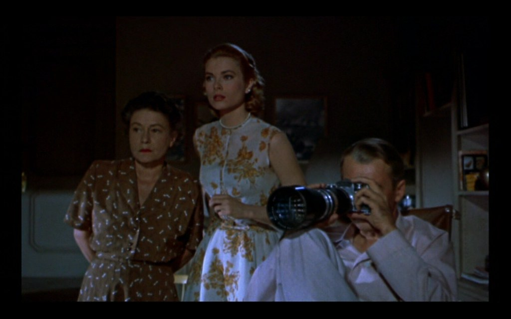 rear window.