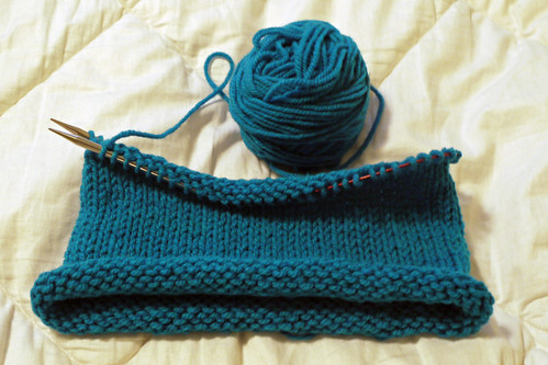 Knitting a Hat