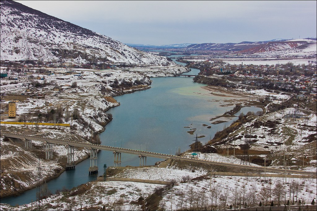 река Чирчик. Узбекистан