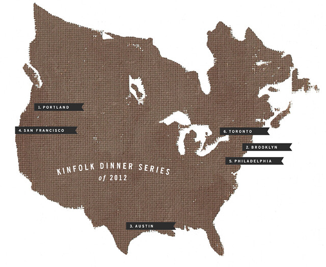 kinfolk dinner series map katie-Amanda Jane Jones