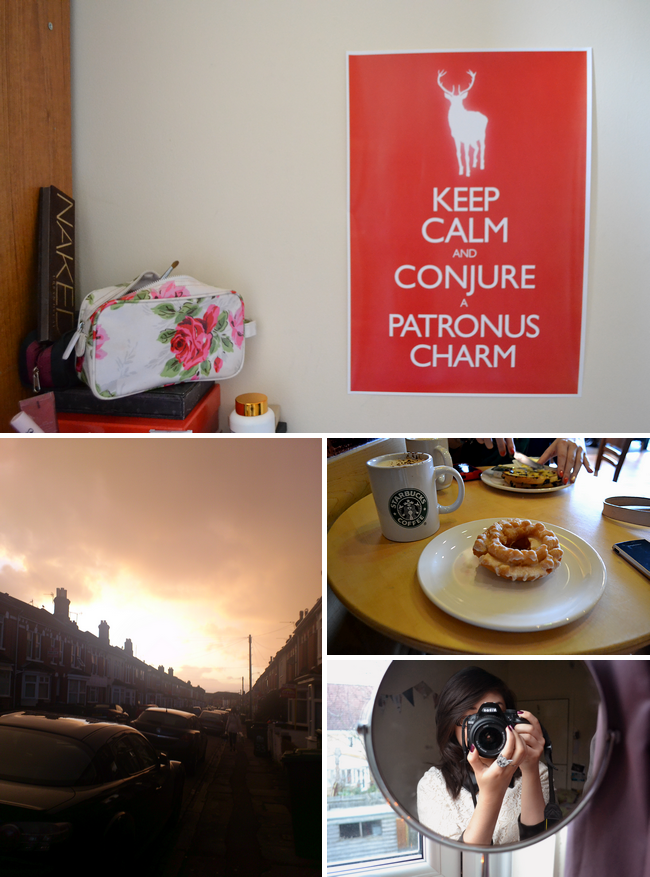 daisybutter - UK Style Blog: week in photos, keep calm, harry potter, sky photo, starbucks