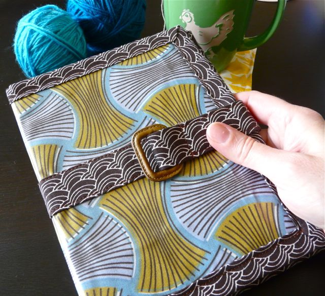 In Which I Make a Kindle Cover, With Some Help