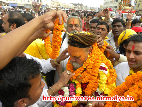 Sri Sri 1008 Sri Madhavachrya Moharaj at Puri