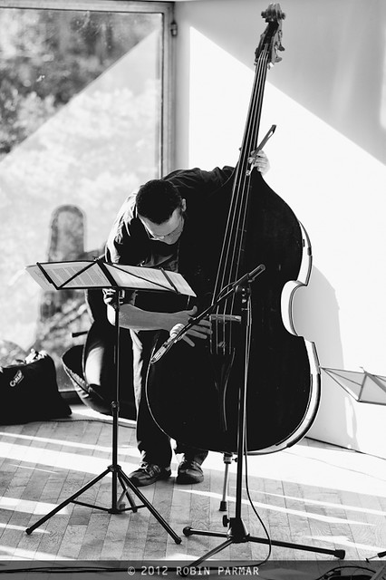 Dan Bodwell, double bass, Quiet Music Ensemble