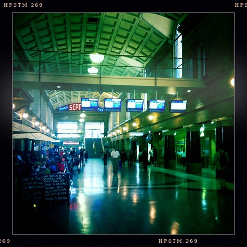 Adelaide railway station. Day 26/366.