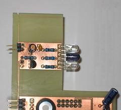 r0ket Laser Tag m0dul v0.8 Prototype IR Transmitter