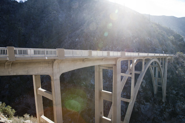 Angeles National Forest Bridge