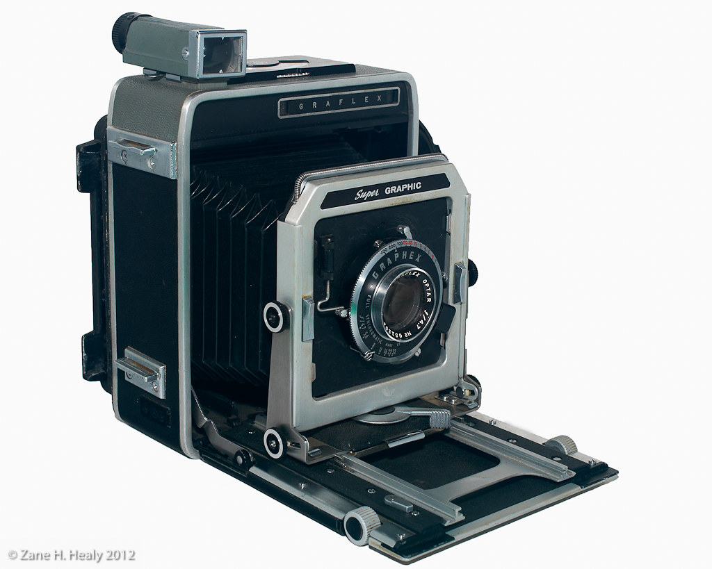 Graflex Super Graphic 4x5 Press Camera