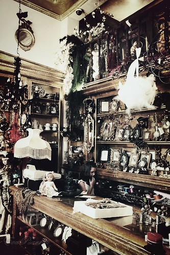 The antique shop by Eva Psarrou