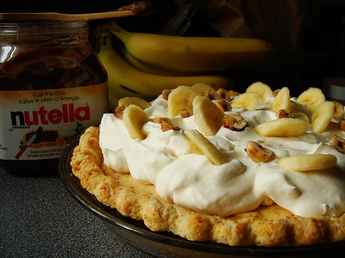 Nutella Banoffee Cream Pie