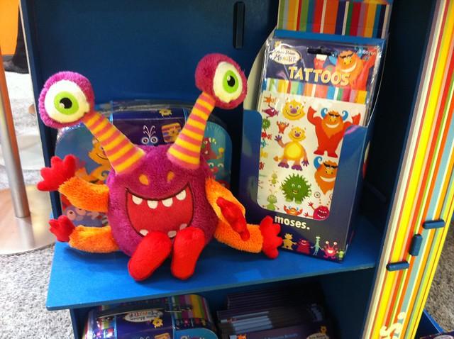 Die neue Monster-Serie von Moses auf der Spielwarenmesse 2012