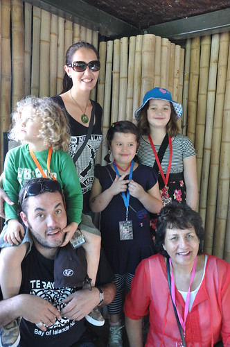 Whanau at the Zoo