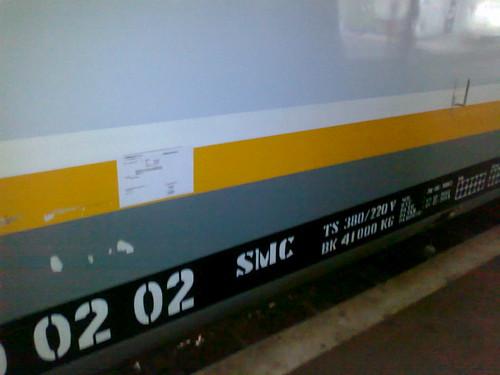 Kereta Pembangkit milik Dipo SMC