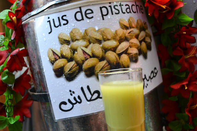 pistachio juice, fez