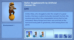Senior Hugglesworth by Artificial Cannon Co.