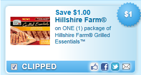 Hillshire Farm Grilled Essentials Coupon