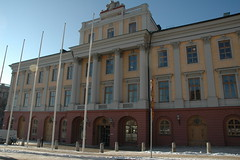 The Hereditary Prince's Palace (Arvfurstens palats) used as a Swedish government building, housing the Ministry for Foreign Affairs.