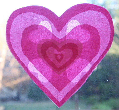 Pink Heart Transparency