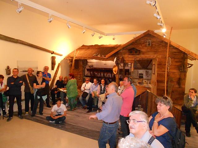 mulino galleggiante - Museo delle acque - Crespnio