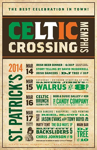 celtic crossing poster