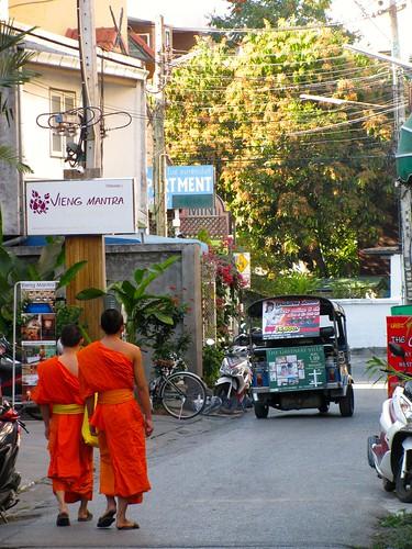 Calle de Chiang Mai