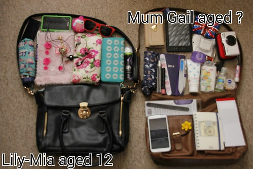 What's in your handbag?