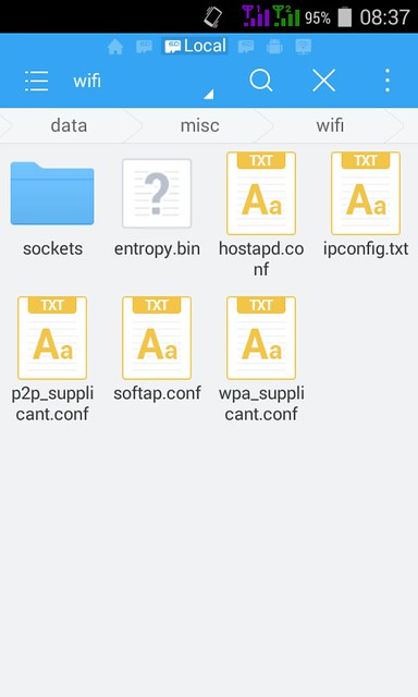 File Explore In Es File Manager