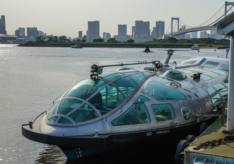 River cruise to Odaiba boat ship tokyo japan