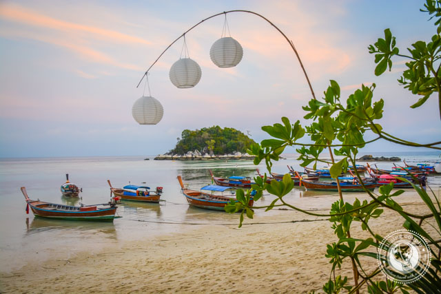 Sunset on Koh Lipe Thailand