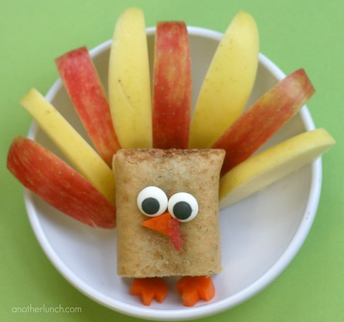 Thanksgiving turkey snack