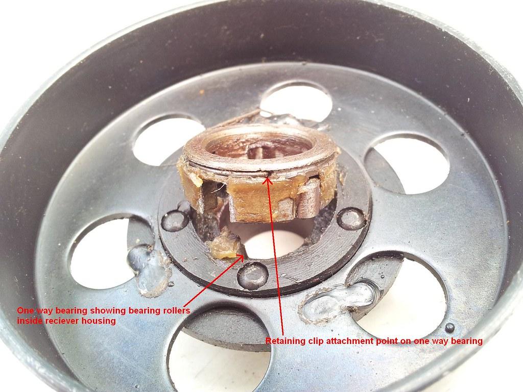 Centrifugal Clutch - 48cc, 60cc, 66cc, 80cc - pull-start/pedal-start, 2 stroke 6389010997_373a2c57b6_b