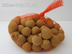 [photo-bag of fresh longan]