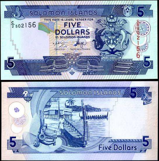 5 Dolárov Šalamúnove ostrovy 2006, Pick 26