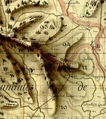 Extrait du rouleau 35 du Plan Terrier avec la partie Osu Ouest et Cuperchjata