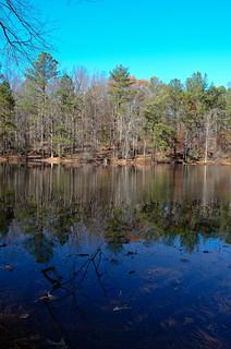 Imagen de Marietta Paper Mills. fall mill colors creek paper georgia pond woods marietta sope sibley