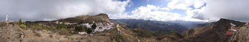 Mirador de la Cilla, Artenara. Isla de Gran Canaria