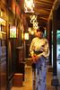 Photo:平山温泉 山懐の宿『一木一草』:ステンドグラスの回廊 By Yamaga Onsen, Kumamoto JAPAN