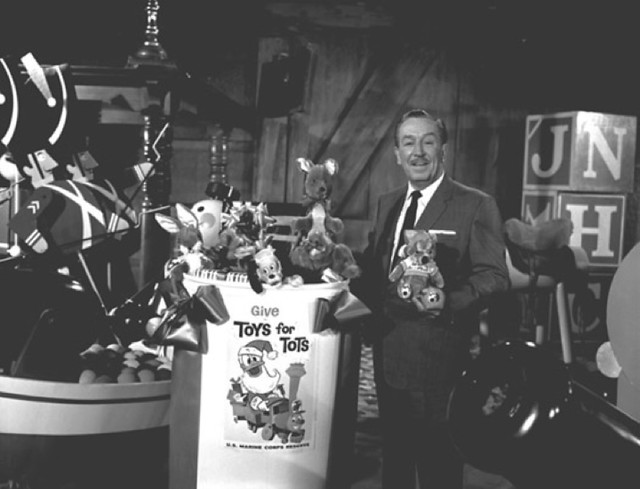 Walt Disney and Toys for Tots