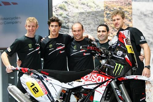Team Husqvarna Dakar 2012