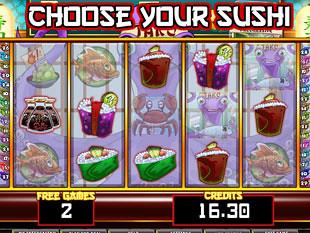 Sushi Express bonus game
