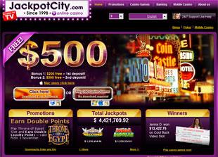 Jackpot City Casino Home