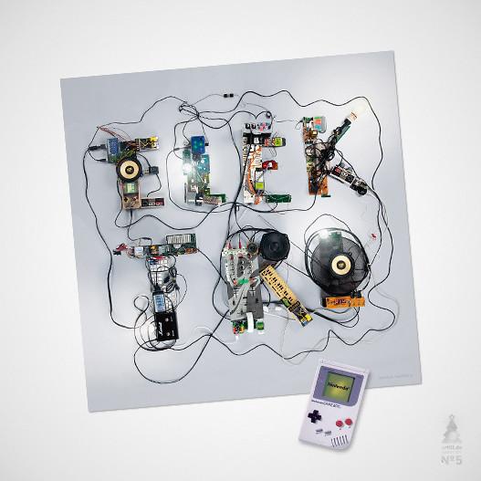 artill adventskalender - tür 01 - elektro poster
