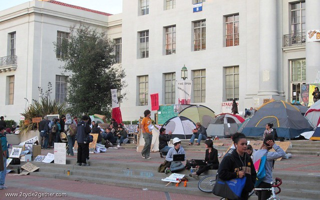 Occupy Berkeley, UC Berkeley