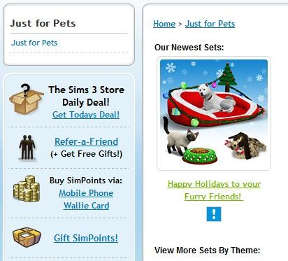Pets Section