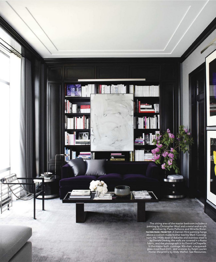 manhattan interiors drew aaron and hana soukupova s manhattan apartment Inside Hana Soukupovau0027s Manhattan Apartment