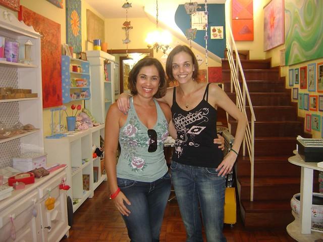 Visita da querida Ellen Monna!!!
