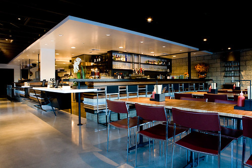 interior of the TAKE A BAO studio city by TAKE A BAO