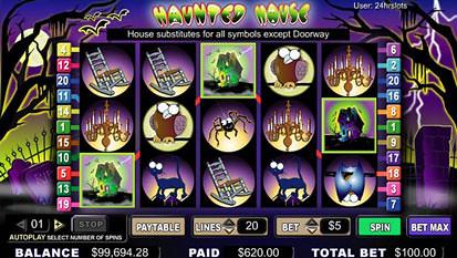 Haunted House bonus game