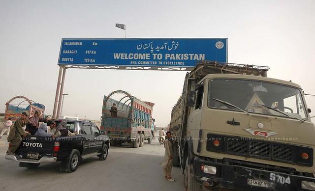 Pakistan border posts